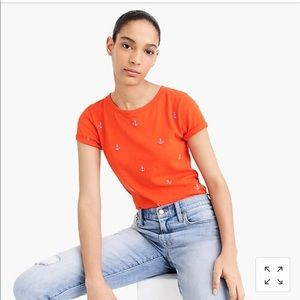 Red and blue anchor tee from JCrew